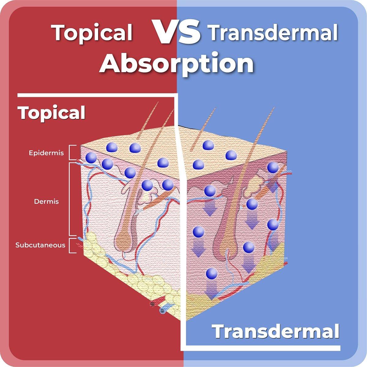 Benefits of Topical & Transdermal CBD Cream