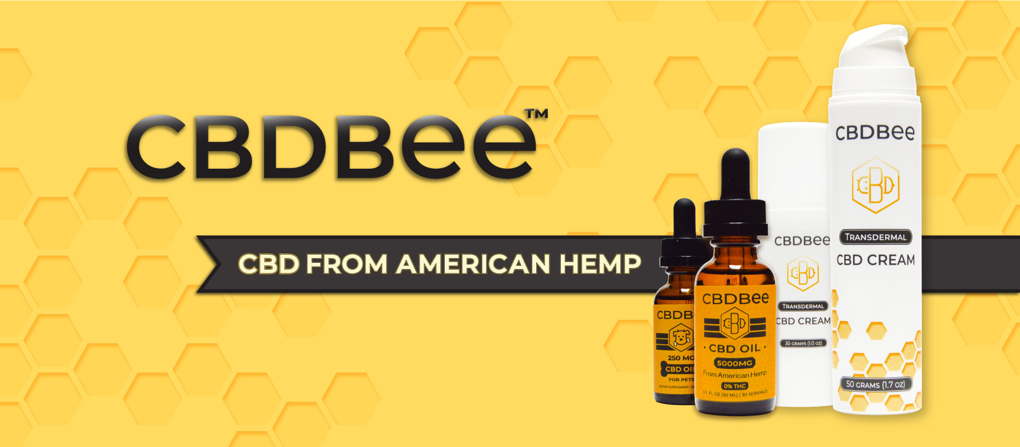 CBD Products Made With American Hemp